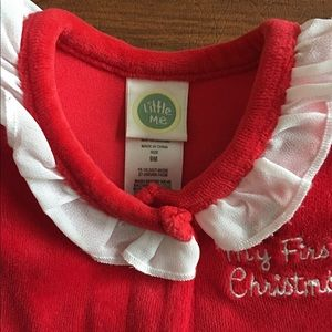 Little Me One Pieces - My 1st Christmas - Size 9 Month